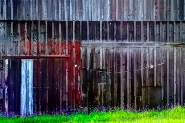 Barn Of Many Colors
