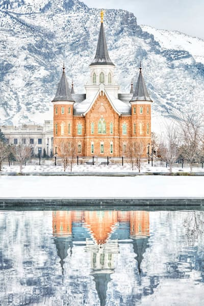 Provo City Center Temple - February Reflection
