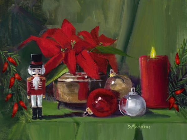 The Nutcracker Holiday Card by Diana Madaras