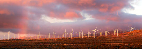 Windfarm Sunrise Photography Art | Josh Kimball Photography