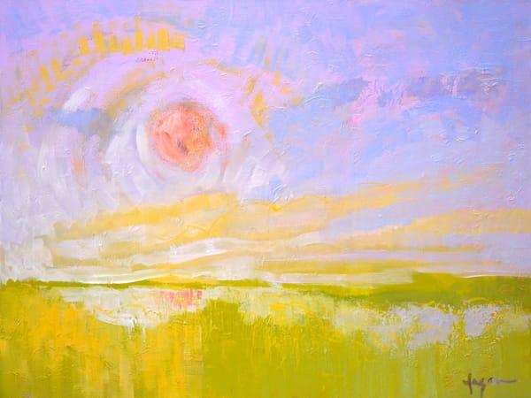 Beautiful Sunrise Original Oil Painting by Dorothy Fagan