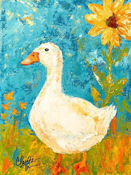 Snowflake the Duck