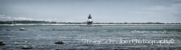 Orient Point Light House Art by East End Arts