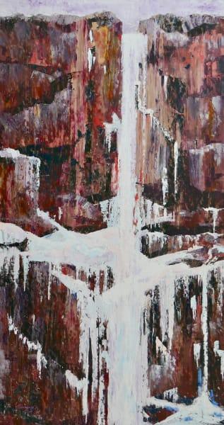 Debra Schaumberg Slowing Time Original Palette Knife Painting