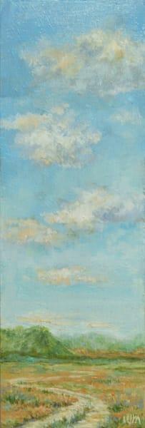 Oil painting Montana landscape