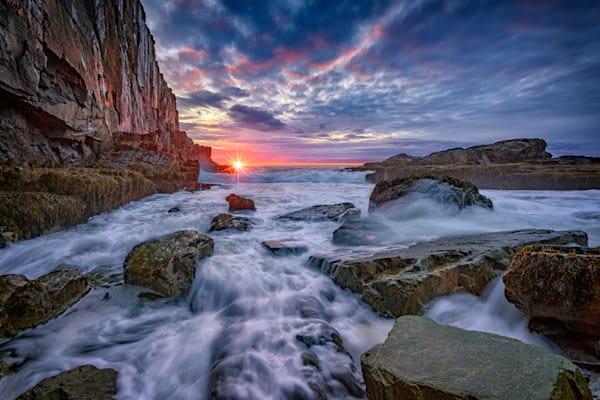 Spring Sunrise at Bald Head Cliff by Rick Berk