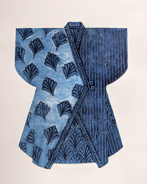 Indigo Kimono 2 Art | Susanne Clark