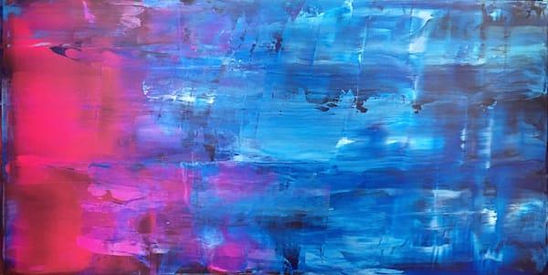 Washing Away abstract PMS painting