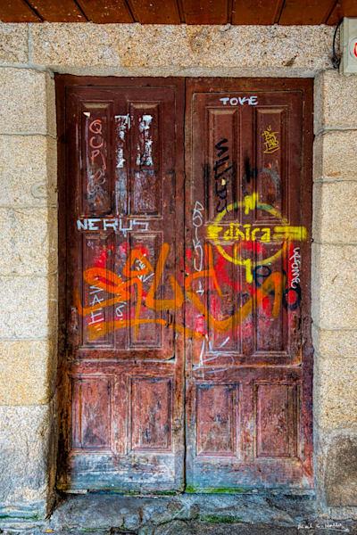 Graffitti Door