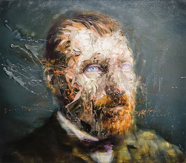 Vincent Van Gogh Iii (Oil On Print) Art | Mathieu Laca