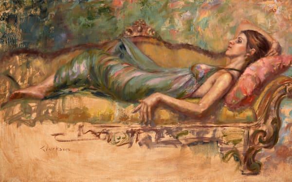 Falling Away Original Oil Painting