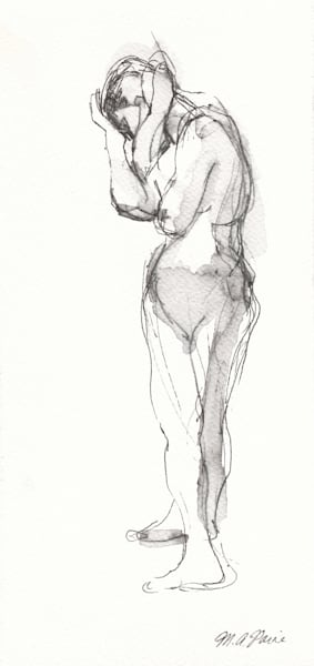 Fine Art Nude Drawing