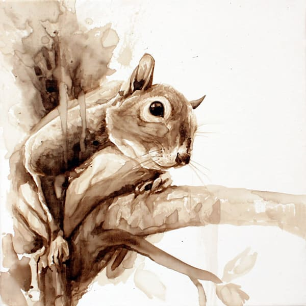 Robin Hood - Original Coffee Painting