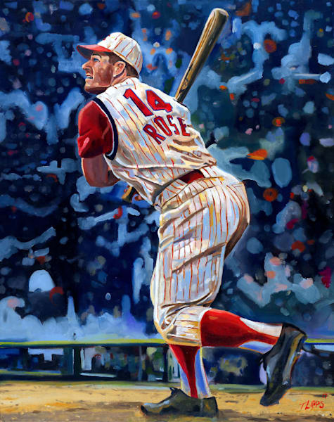 Pete Rose painting