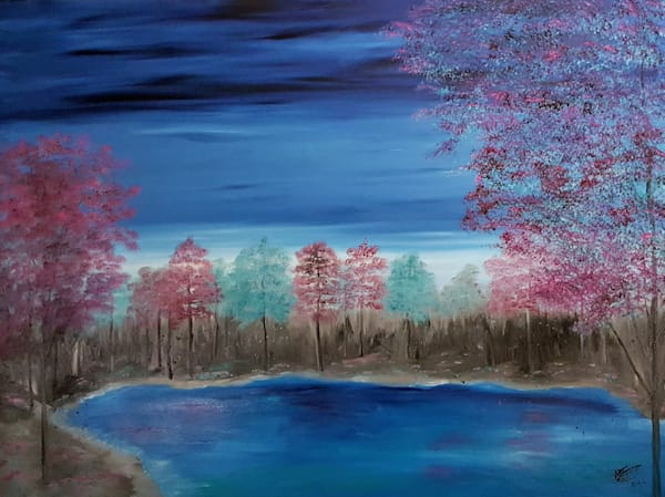 Peaceful Reflections Art | Artist Ron Turner