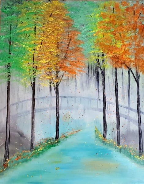 Fall Mist Art | Artist Ron Turner