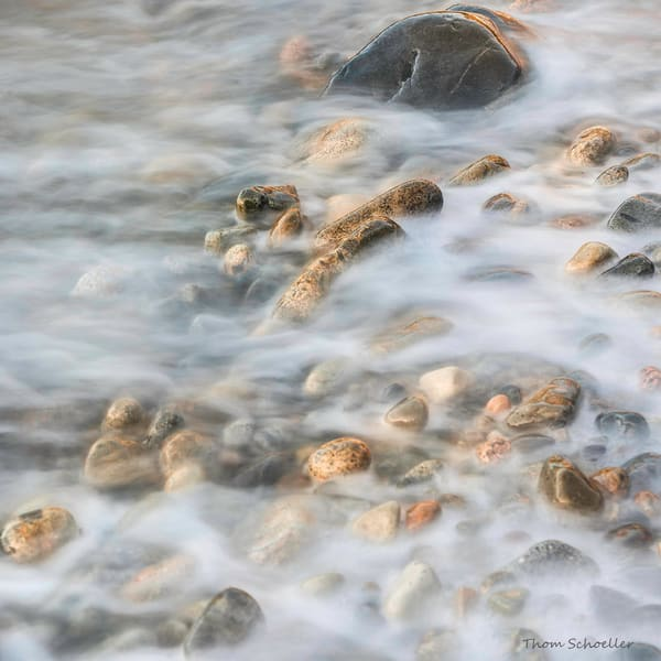 Abstract Fine Art Nature Photography | Little Hunters Beach Acadia National Park Maine