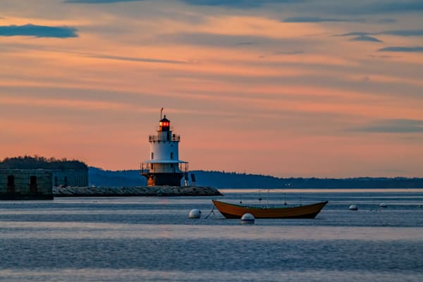 Day's End at Spring Point by Rick Berk