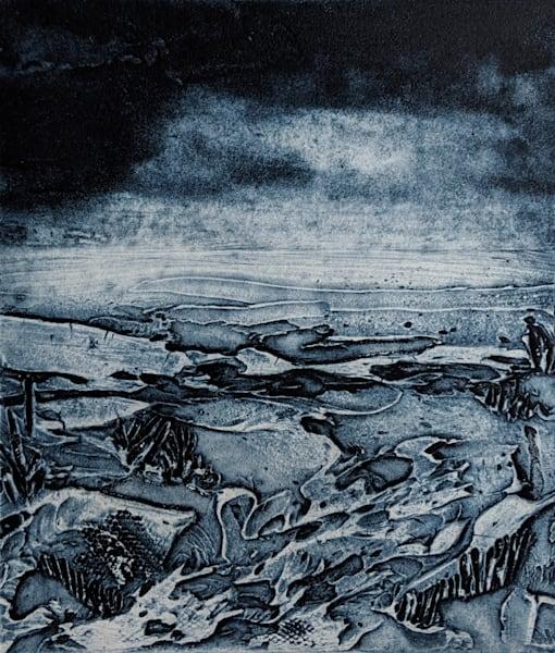 Vista (Indigo) Art | Susanne Clark