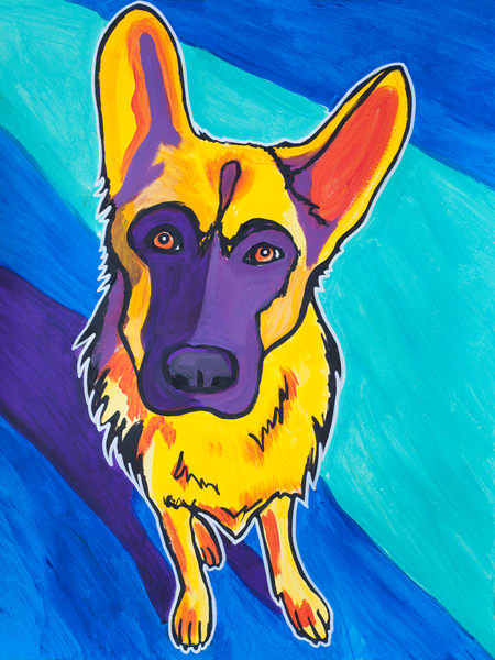 Kasch the German Shepherd