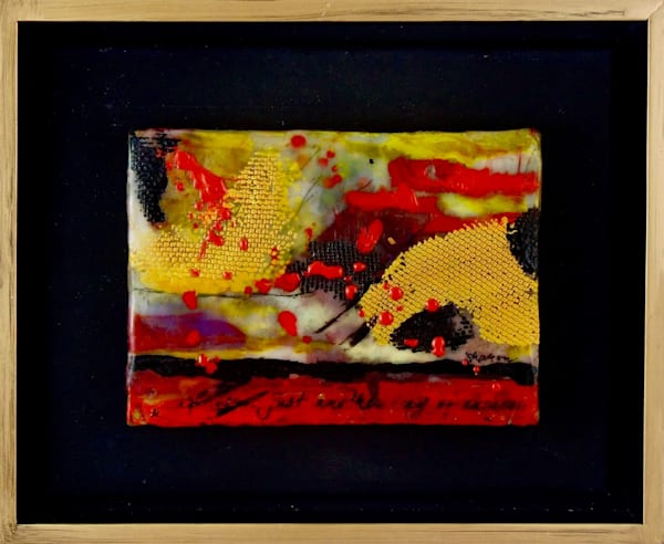 encaustic, wax, art, fine art