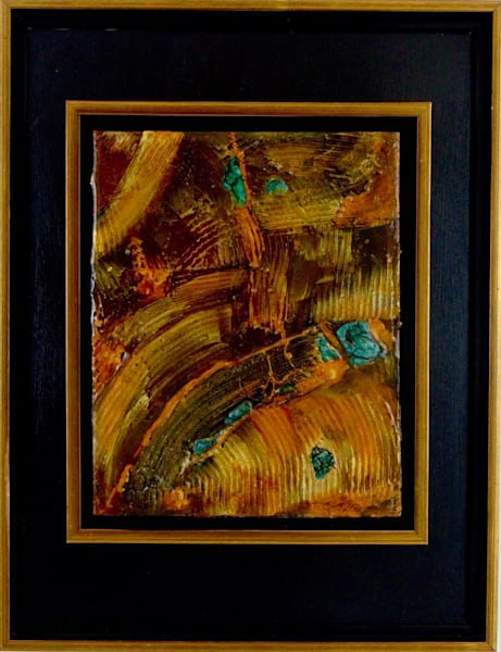 original, encaustic, wax, bee, abstract