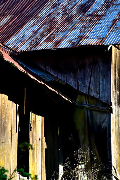 Rusty Tin Roof Barn