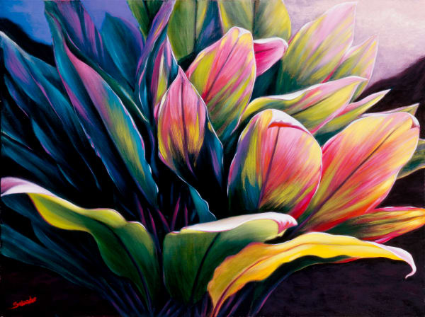 Hawaii Fine Art   Bailey's Ti by Philip Sabado