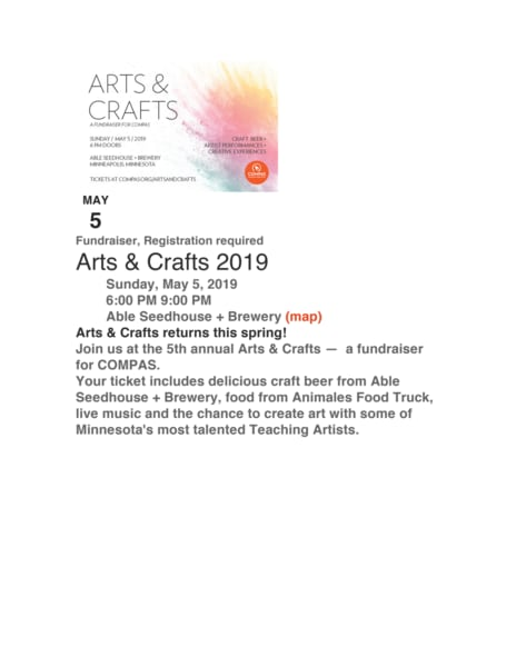 Compas arts and craft may 5th chxpf5
