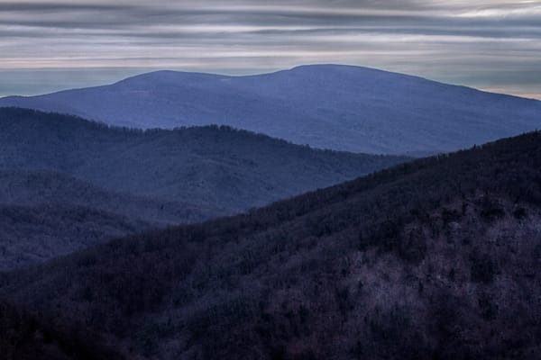 Fine Art Photographs of Shenandoah National Park Landscapes by Michael Pucciarelli