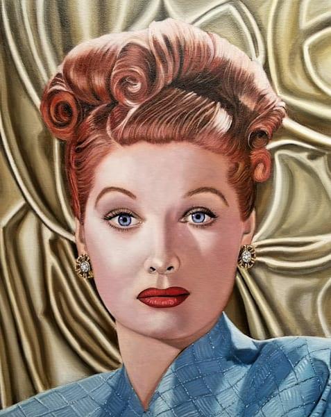 Lucille Ball Art | Vasquez Art