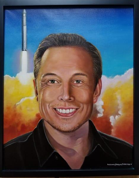 Elon Musk  Art | Vasquez Art