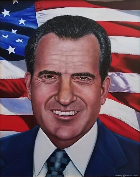 Richard Nixon Art | Vasquez Art