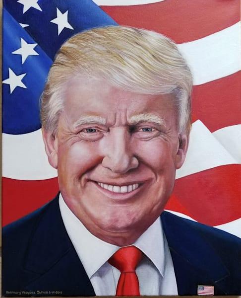 Donald Trump  Art | Vasquez Art