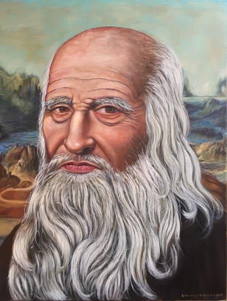 Leonardo Di Vinci  Art | Vasquez Art