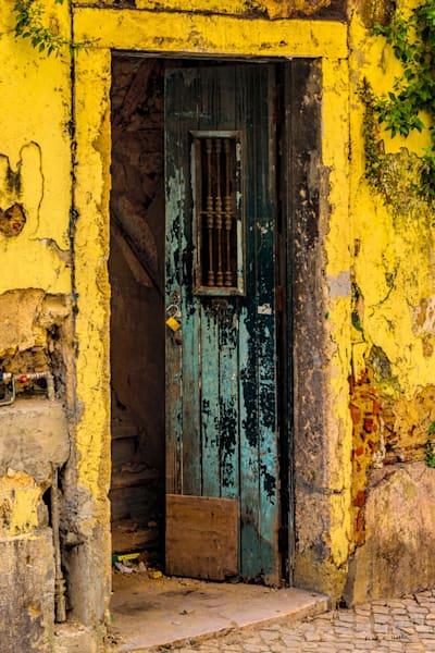 door, lisbon, spain, old, architecture, curious