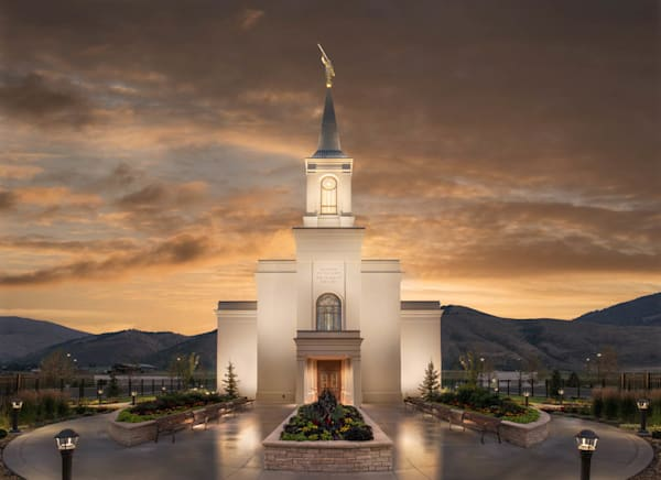 Star Valley Temple - Covenant Path