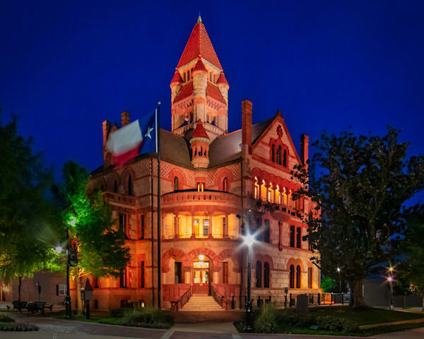 Hopkins County Courthouse fine-art photography for sale