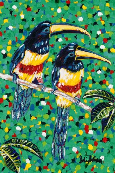 Love Birds by Jodi Augustine Art