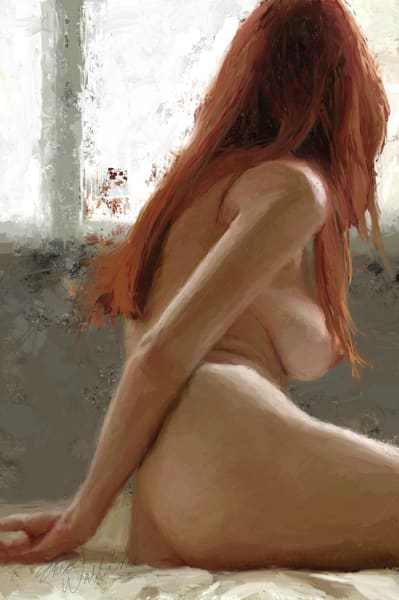 "Digital painting ""Look Out"" by Eric Wallis."