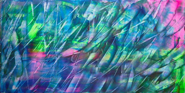 Summer Breeze abstract PMS painting