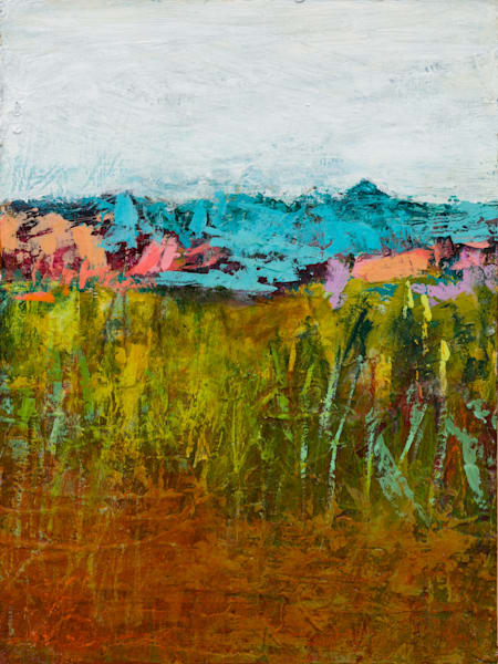 Western Abstract Landscape Painting