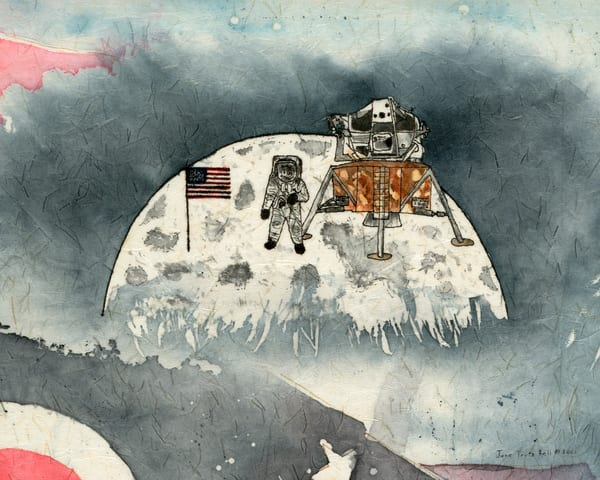 Neil Armstrong First Man to Walk on the Moon - Ohio's First Series, #4  |  June Bell Artist