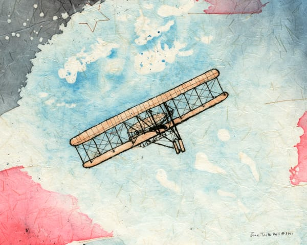 The Wright Brothers First Flight - Ohio's First Series, #2  |  June Bell Artist