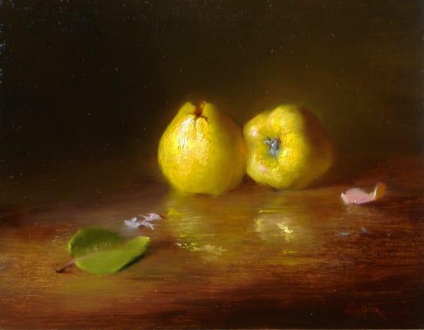 Quince Duet Art | Cristina Goia