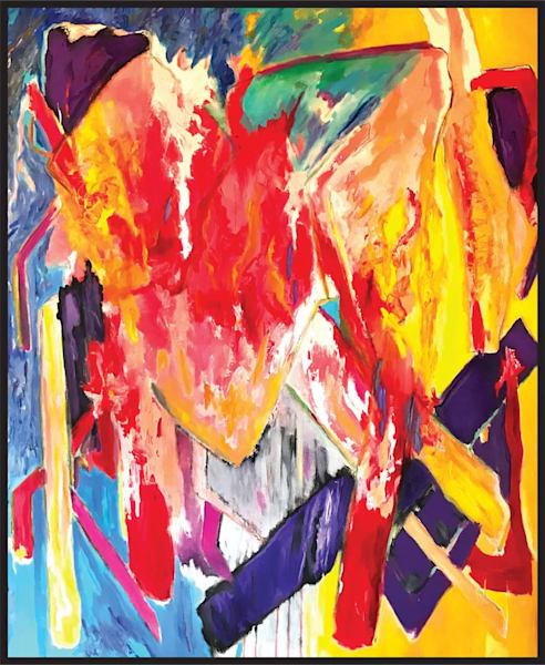 oil, acrylic, ah, what-matters, feel, original, art