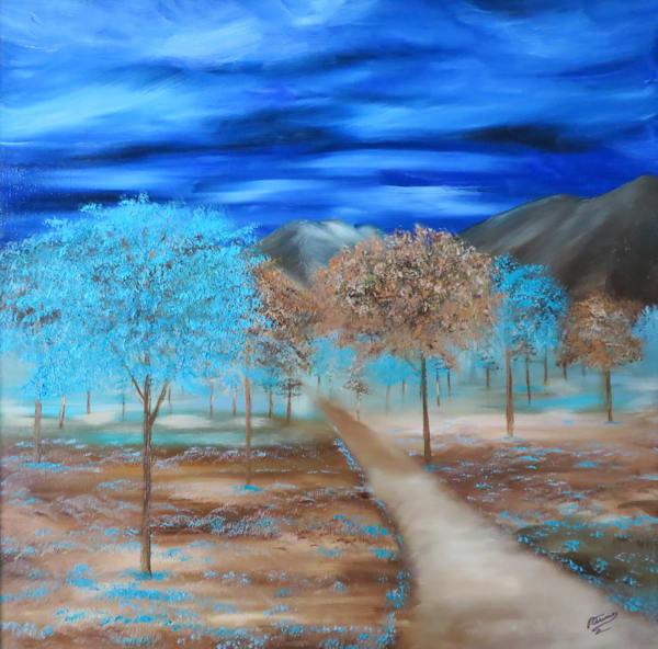 Blue Green Meadows