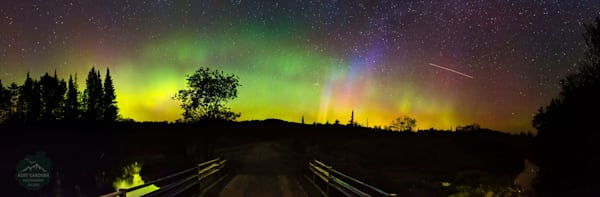 ADK Northern Lights North St Panoramic Puzzle