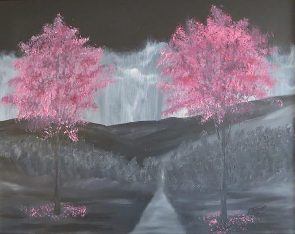 Pops Of Pink Art | Artist Ron Turner