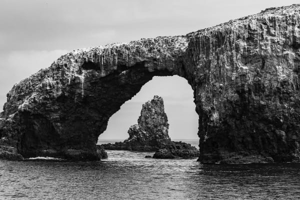 Arch Rock in Channel Islands National Park Photograph For Sale As Fine Art